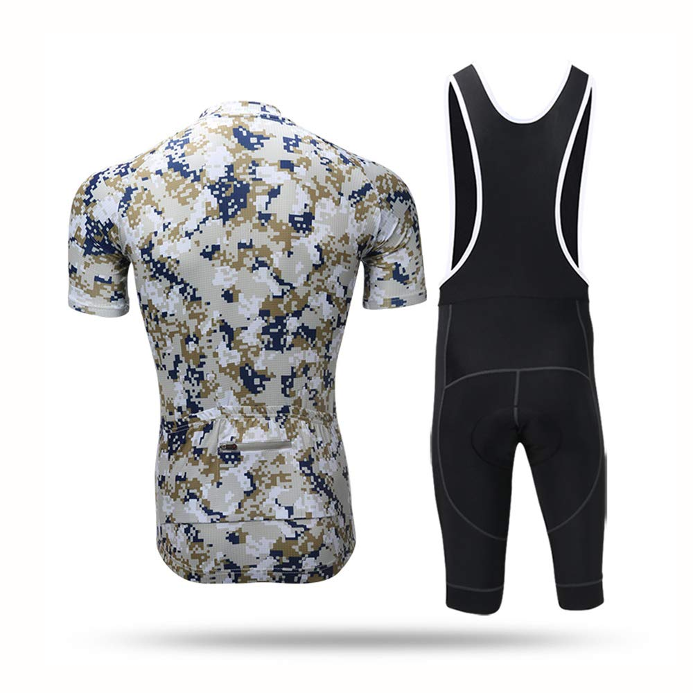 Traje de ciclismo para hombres, conjunto de ropa de ciclismo ...