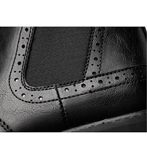 Primavera Uomo Pizzo DHFUD Piatto Estate Uomo Moda Formale Scarpe Nozze 38 Autunno in Pelle da in Il con di da Brown Marrone E Festa Inverno 4E6qE