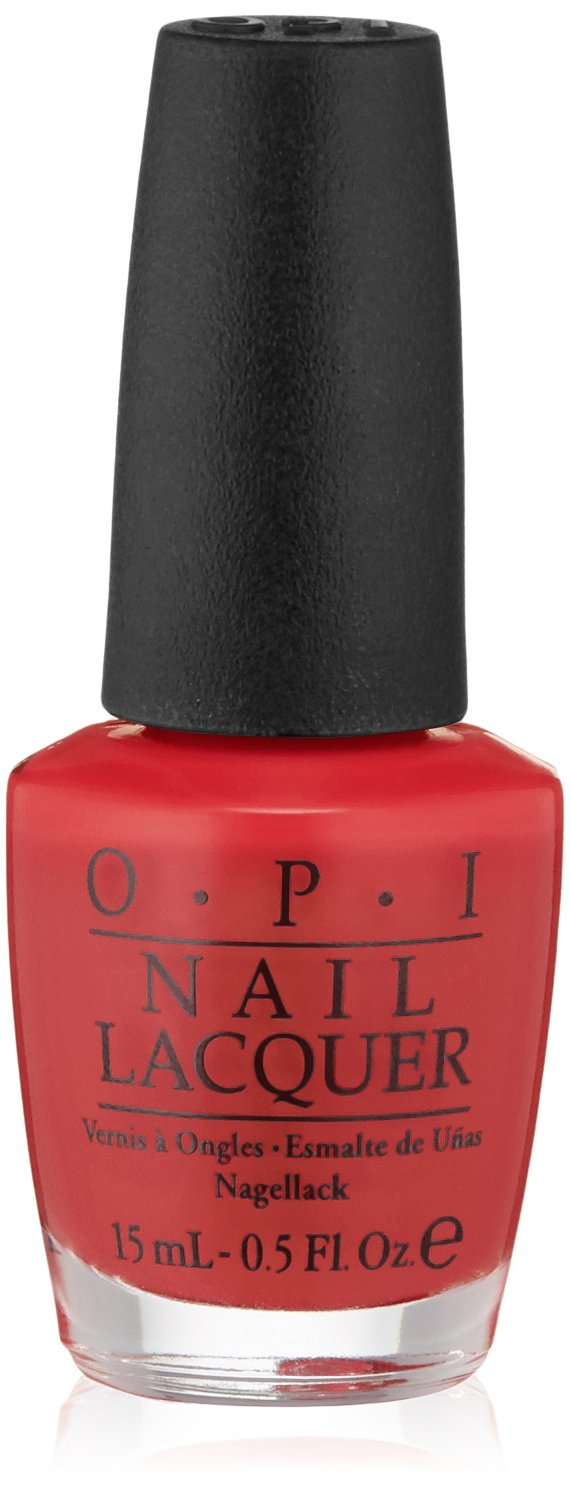 Amazon.com: OPI Nail Lacquer, Big Apple Red, 0.5 fl. oz.: Luxury Beauty