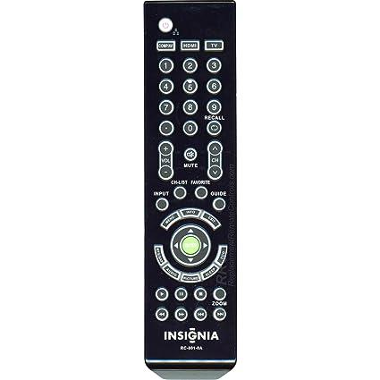 amazon com original insignia rc 801 0a lcd tv remote control for rh amazon com