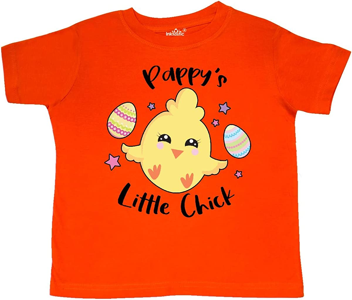 inktastic Happy Easter Pappys Little Chick Toddler T-Shirt