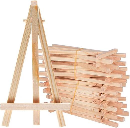 Mini caballete de madera, soporte de pizarra para fotos ...