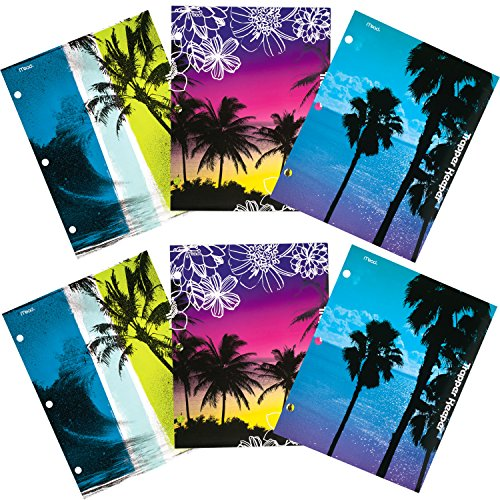 mead-trapper-keeper-2-pocket-folders-fun-in-the-sun-assorted-designs-6-pack-73453
