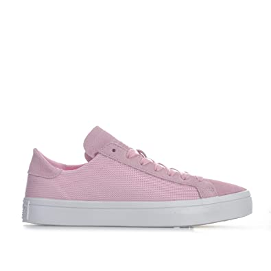 super popular fbdbf 3f314 Amazon.com  adidas Originals Womens Court Vantage Trainers Wonder US7 Pink   Track  Field  Cross Country
