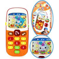 Vuffuw Baby Toy Phone Little Smartphone Early Learning Toys For Baby 6 Months - 36 Months