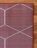 Unique Loom Trellis Frieze Collection Lattice