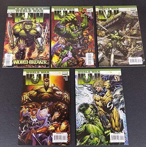 World War Hulk #1-5 Full Set Complete Run Near Mint Marvel Comics 2007 CBX1F