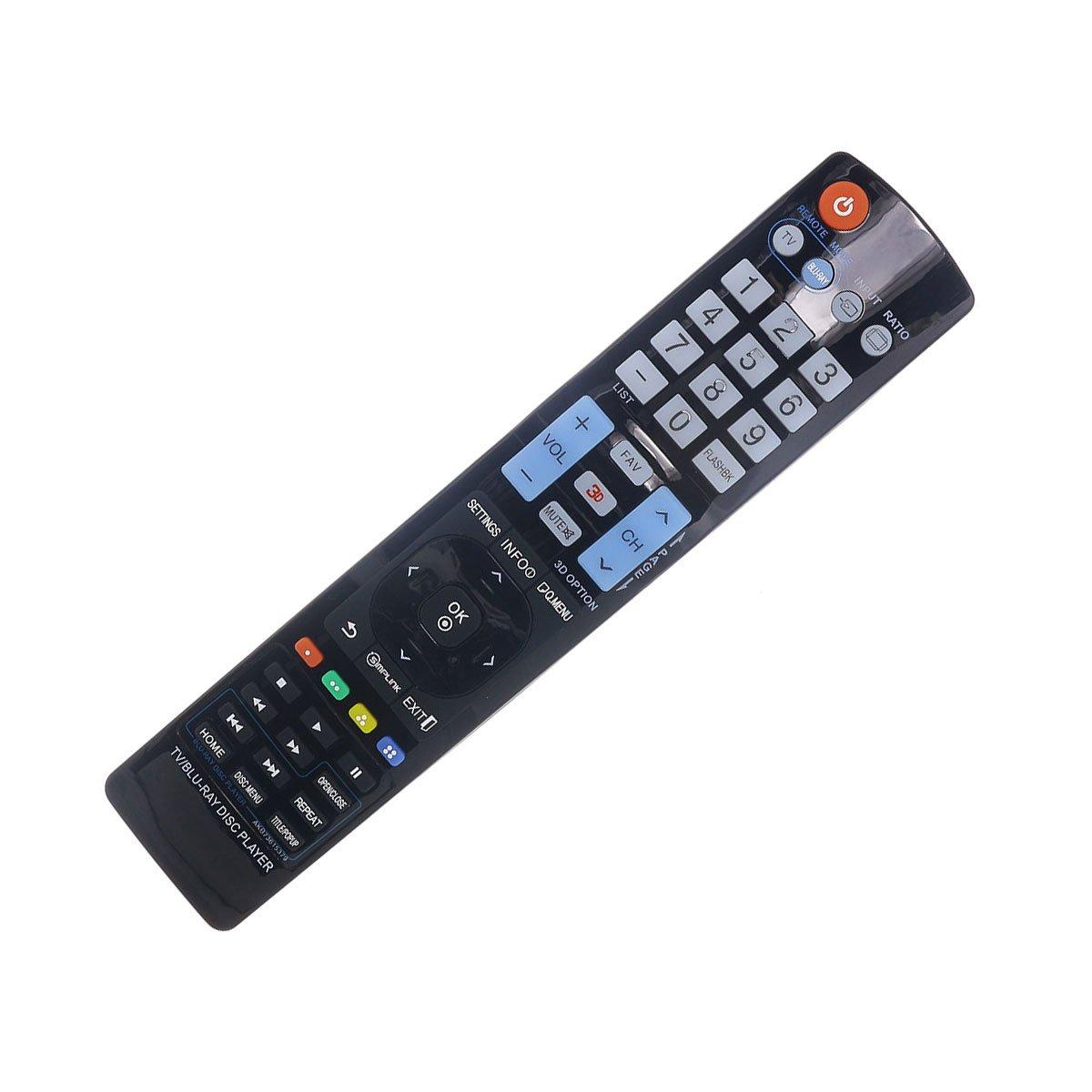DEHA テレビリモコン LG 42LT670Hテレビ用 B07MTQY4RT