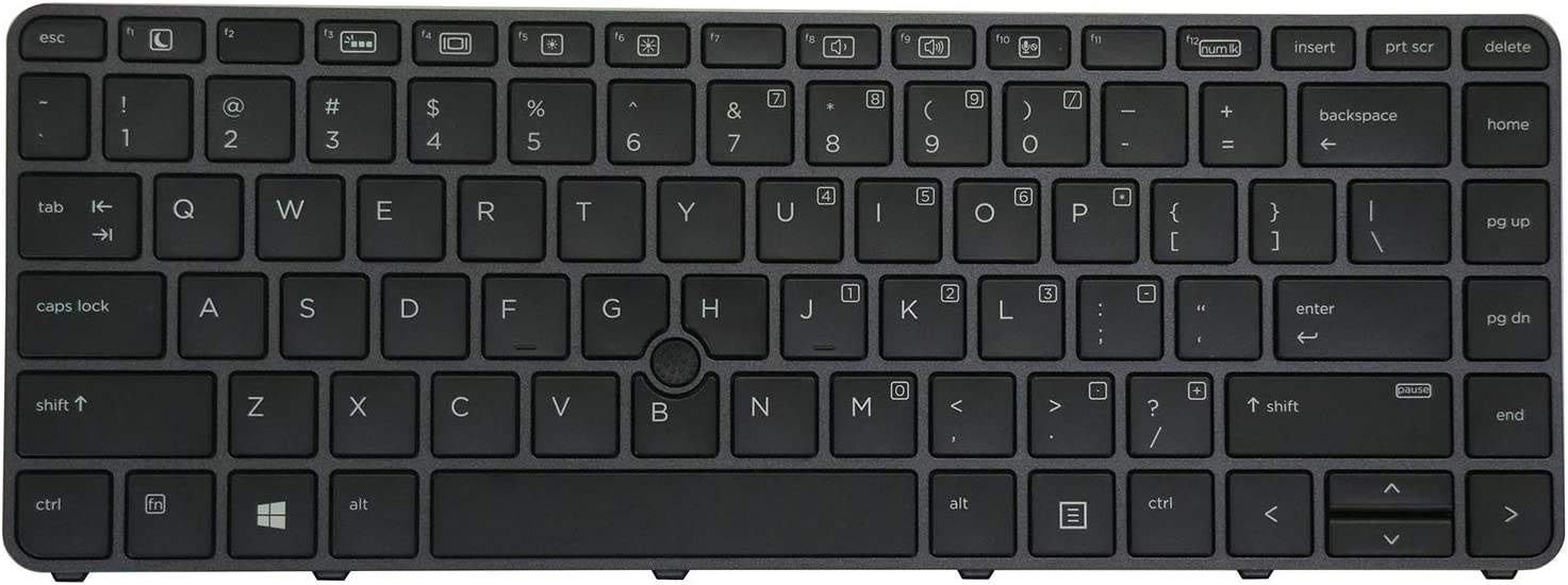 HP Elitebook 745 G3 840 G3 848 G3 745 G4 840 848 G4 Notebook US Keyboard Backlit