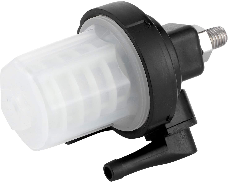 KIMISS Filtro de combustible para motor fueraborda conjunto de filtro de combustible de repuesto 61N ‑ 24560‑00 apto para motor fuera de borda Yamaha de 2 tiempos//4 tiempos