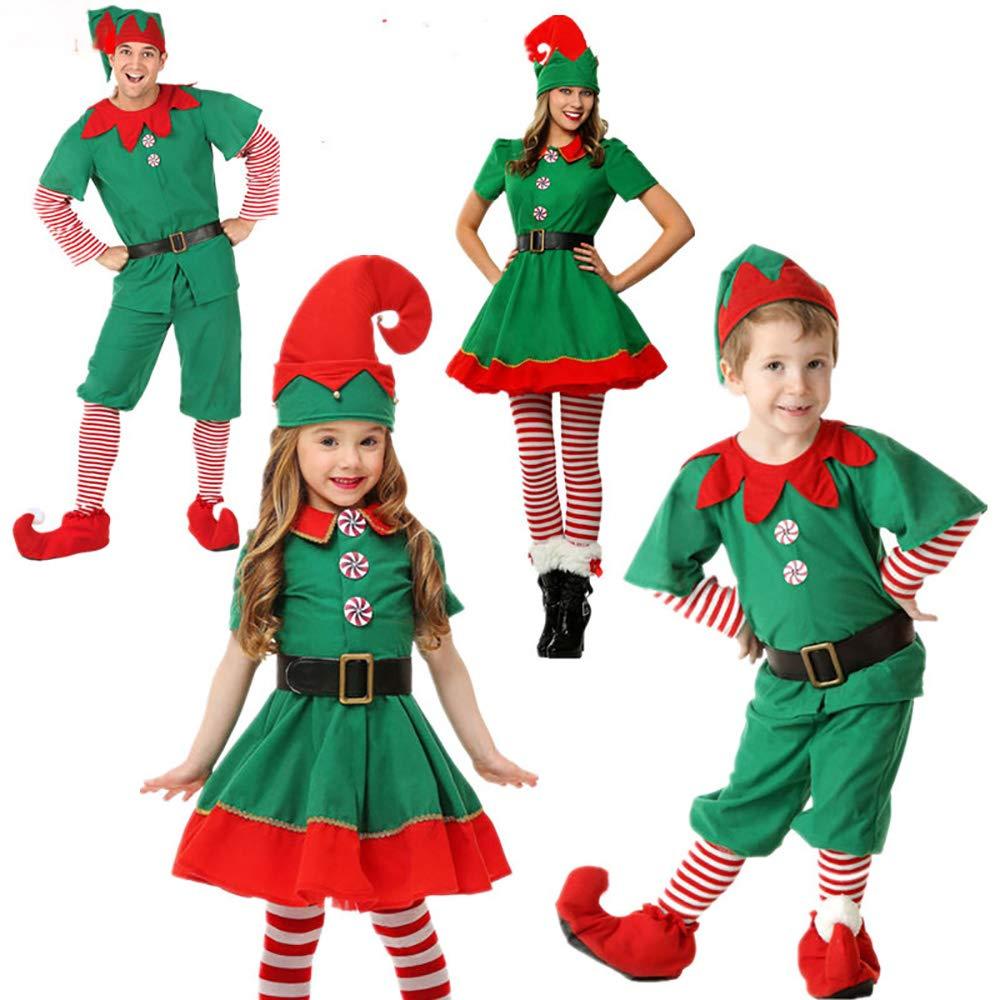 Child Festive Elf Costume