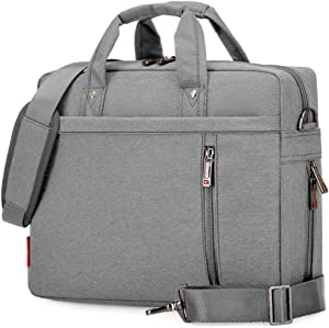 "SNOW WI 12-13.3"" Expandable Laptop Shoulder Bag for MacBook,Acer,Asus,Dell(Gray)"