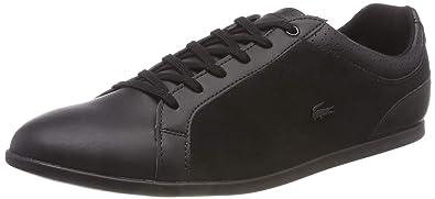 c85dfd2d70 Lacoste Rey 318 2 CAW Baskets Femmes, Noir Blk 02h, 42 EU: Amazon.fr ...