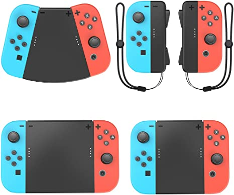 MoKo Kit Asa de Grip Connector Compatible con Nintendo Switch Joy ...