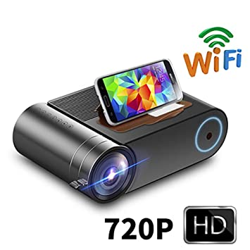 Proyector LED HD 720P para 1080P WiFi inalámbrico Proyector ...