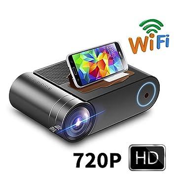 Proyector LED HD 720P para 1080P WiFi inalámbrico Proyector de ...