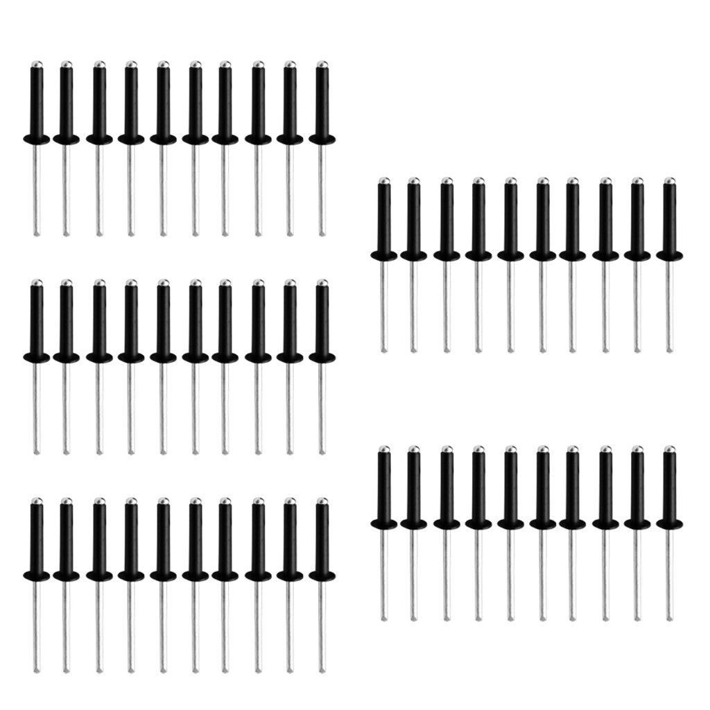 in Verschiedenen Mengen Sharplace Aluminum Pop Rivets//Blind Rivets M5 Aluminum Blindnieten Pop Nieten