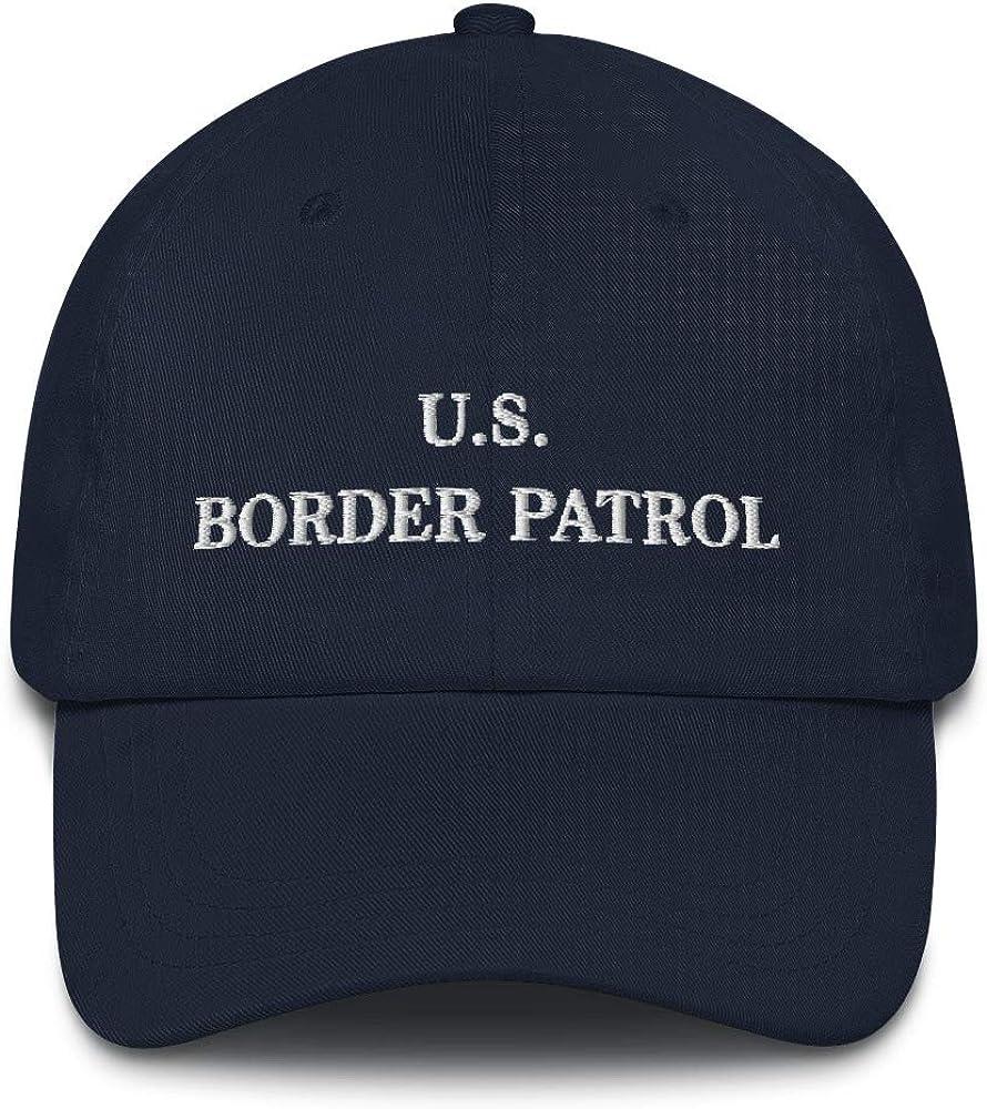 Hogue WS LLC US Border Patrol Hat (Embroidered Dad Cap) Dept Homeland Security