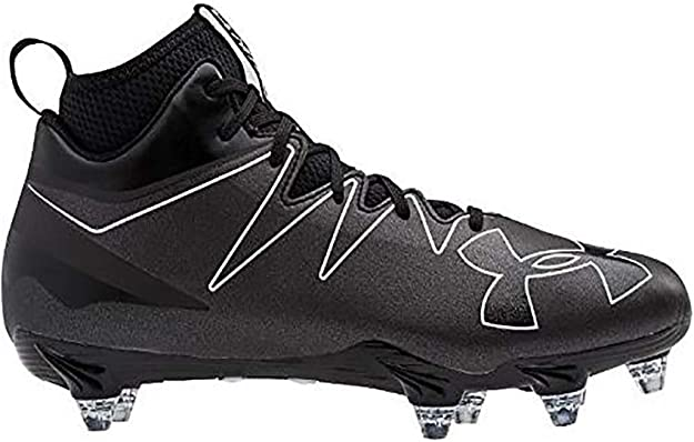 Black//Black 6.5 D US Under Armour Men/'s Nitro Diablo RM Football Shoe