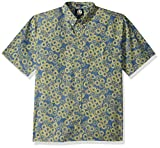 Reyn Spooner Men's Classic Fit Hawaiian Shirt, Opihi Rock - Navy XL