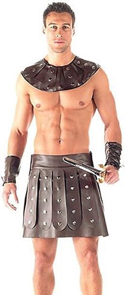 Disfraz de gladiador para hombre, 3x.: Amazon.es: Ropa y accesorios