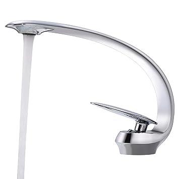 BONADE Chrom Wasserhahn Bad Waschbecken Waschtisch Armatur ...