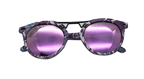 Hemio - Gafas de sol redondas con película de color ...