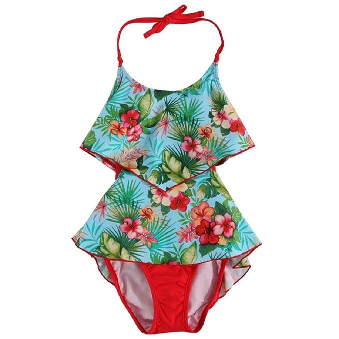Amazon.com: Tommy Bahama Niñas 7 – 16 Monokini traje de baño ...