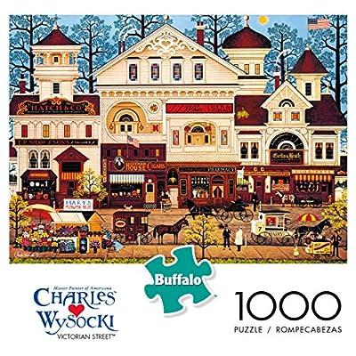 Buffalo Games - Charles Wysocki - Victorian Street - 1000 Piece Jigsaw Puzzle: Toys & Games