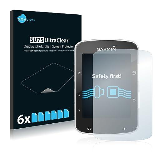 5 opinioni per [6 Pack] Savvies Pellicola Protettiva per Garmin Edge 820 Protezione Proteggi