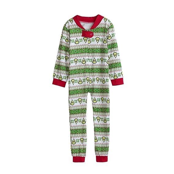 5780f4b53373 Family Matching Xmas Pajamas Set Women Men Adult Kid Jumpsuits PJs Nightwear   Amazon.co.uk  Clothing