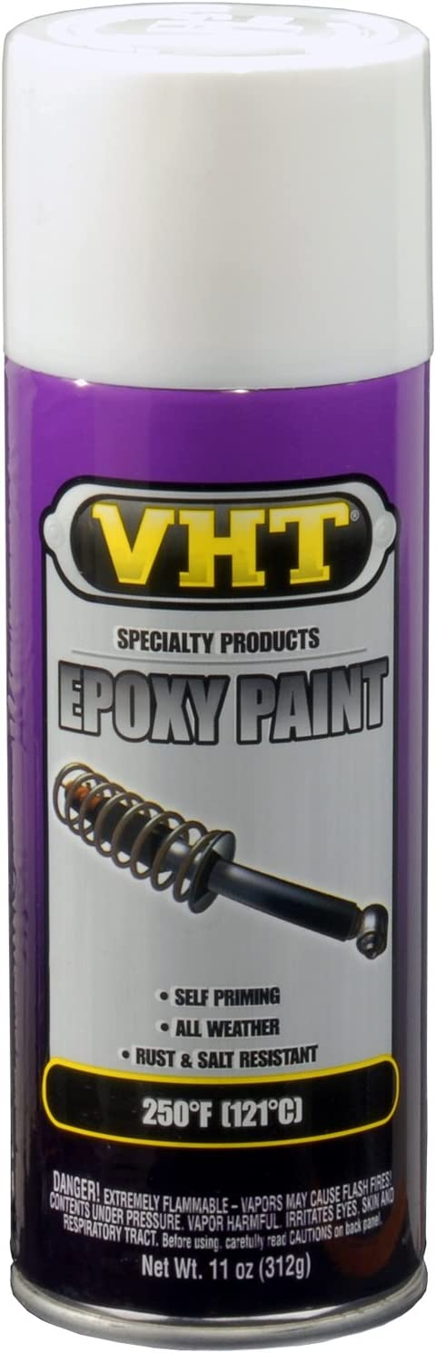 VHT SP651 Gloss White Epoxy All Weather Paint Can - 11 oz.
