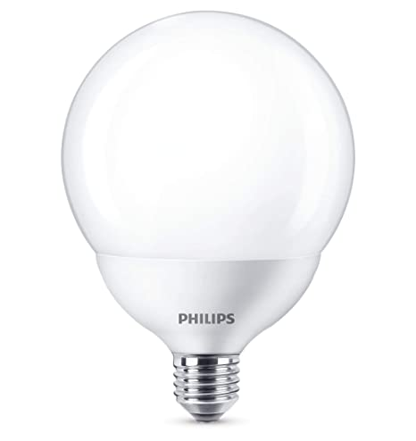 Philips bombilla LED globo, casquillo gordo E27, 17.5 W equivalentes a 120 W en