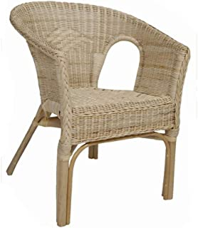 Home-Ever Rattan Wicker Armchair For Conservatory Bedroom Nursery (Natural)  sc 1 st  Amazon UK & Ikea AGEN - Chair rattan bamboo: Amazon.co.uk: Kitchen u0026 Home