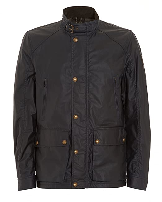 3a6ef097d274 Belstaff - Giacca Tourmaster in cotone cerato