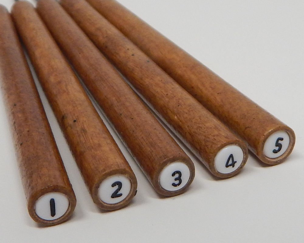 Slotted Paper Bead Roller Set of 5