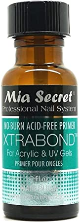 Imagen deMia Secret XTRABOND No-Burn Acid-free Primer 1/2 oz. for Acrylic and UV Gels by Mia Secret