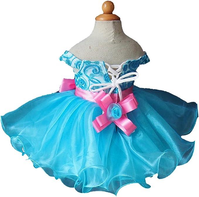 Jenniferwu Infant Toddler Baby Newborn Little Girls Pageant Party Birthday Dress G099 Custom Make from Size 1 to Size 7