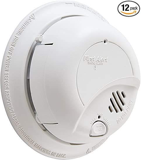 BRK 9120B First Alert Fire /& Smoke Detector AC Wire Powered W// Battery Backup