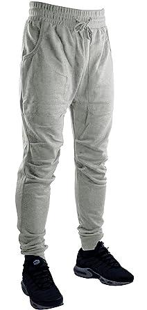 0a91f5b92b5b84 Hat and Beyond Classic Fleece Jogger Pants Casual Slim Fit (X-Large,  1RAJG01_Gray