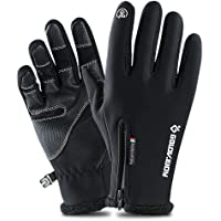 Touch Screen Waterproof Winter Gloves -30℉ Driving Warm Windproof Full Fingers Skiing Outdoor Work Cycling Fishing