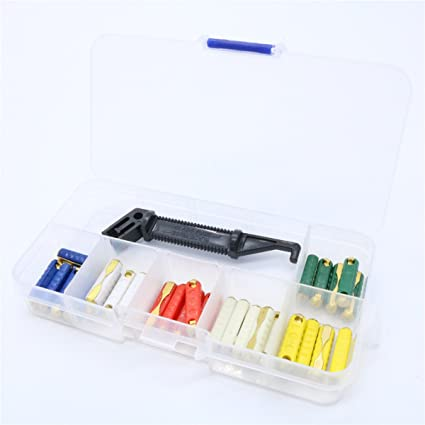 amazon com 30pcs gbc european automotive fuse box assortment rh amazon com