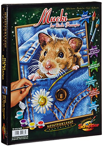 Schipper Golden Hamster Paint by Number