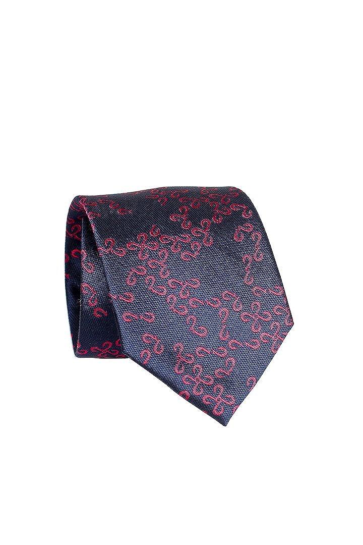 Pineapple Palaka Mens Neckties Makau Patchy Blue Red Modern