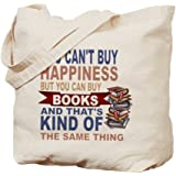 CafePress - Books Rock - Natural Canvas Tote Bag, Cloth Shopping Bag