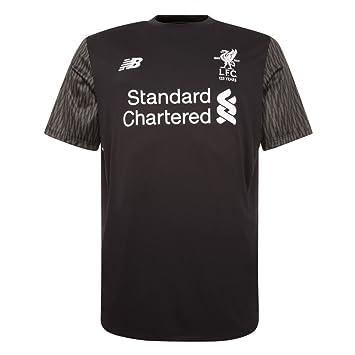 a110a55e12d 2017-2018 Liverpool Away Short Sleeve Goalkeeper Shirt (Black ...