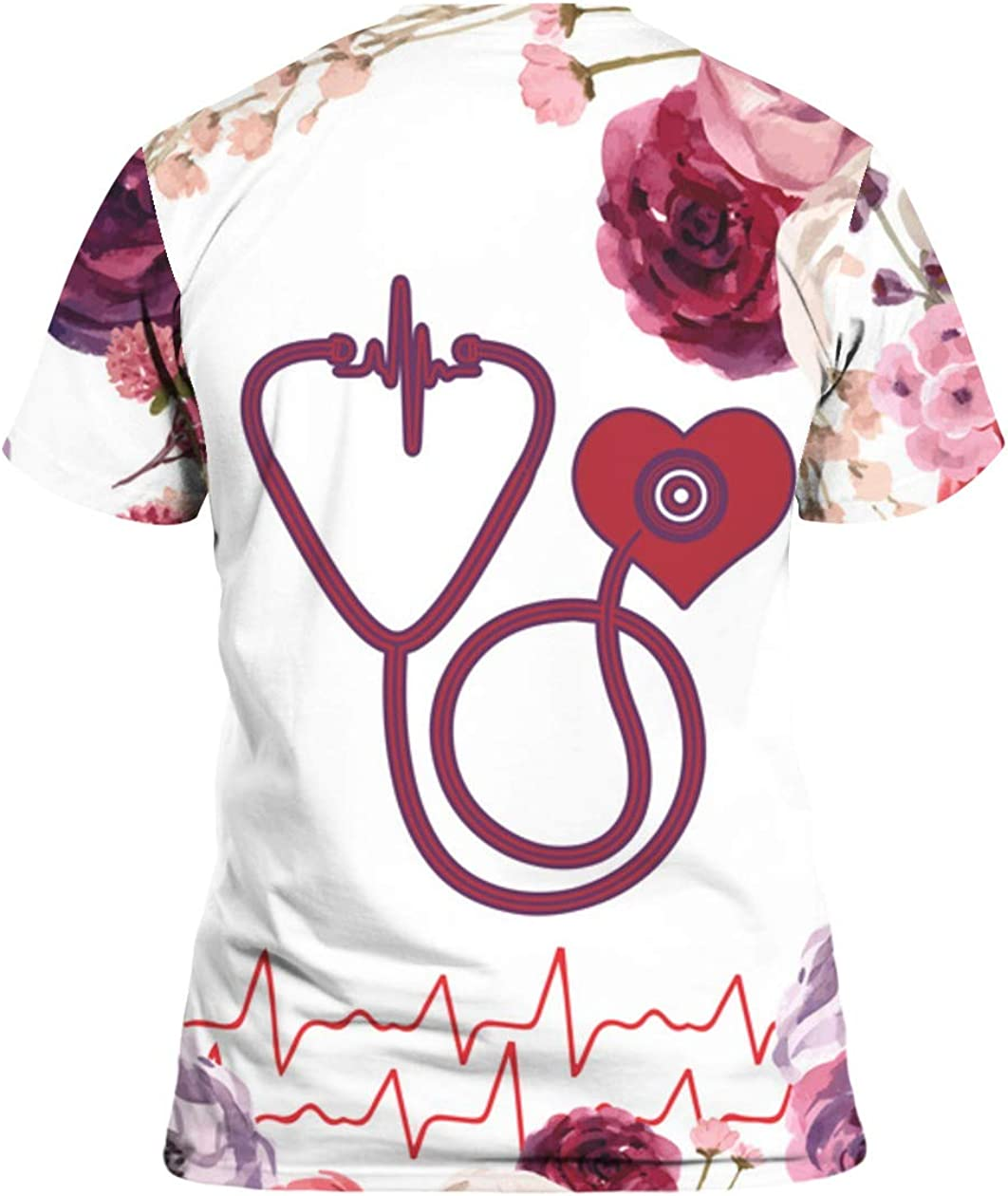 SMLBOO Nurse Flower It is Beautiful Thing 3D All Over Sublimation Printed