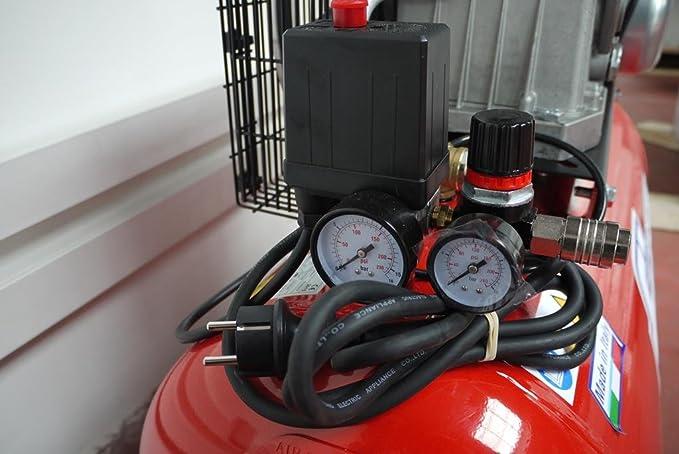 Fiac AB 100-268 M - Compresor de aire con transmisión por correa: Amazon.es: Bricolaje y herramientas