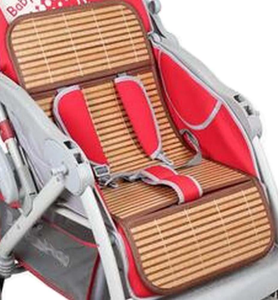 Carros de verano Mats reutilizable Cochecito de bambú Mats Liner ...
