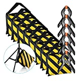 Neewer 8-Pack Heavy Duty Sandbag (Yellow/Black) for Photo Studio Light Stands Boom Arms with 6-Pack Muslin Backdrop Spring Clamps Clips (Empty Sandbag)